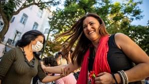 """Marisa Matias atinge Marcelo Rebelo de Sousa em campanha contra """"medo"""""""