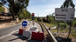 Estrada Nacional condicionada há dois anos na Venda do Pinheiro