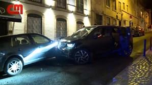 Morreu idoso que foi atropelado por carro em contramão em Lisboa