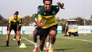 Avançado Tiago Tomás é aposta de Amorim no Sporting