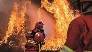 Bombeiros negam ter abandonado idoso no combate a fogo em Proença-a-Nova