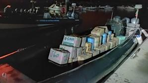 GNR apreende mais de 1,8 quilos de haxixe em embarcação no rio Guadiana em Vila Real de Santo António