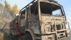 Treze meios aéreos combatem fogo de Proença-a-Nova que já se alastrou a mais dois concelhos