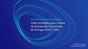 Leia na íntegra o Plano de Recuperação Económica de Portugal proposto por Costa Silva