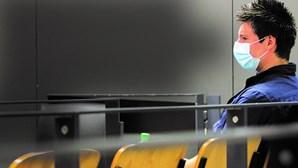 Rui Pinto no Campus de Justiça em Lisboa para a sexta sessão de julgamento