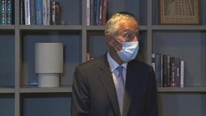 """Marcelo quer plano de recuperação com """"amplo apoio político"""" e sem crises orçamentais"""