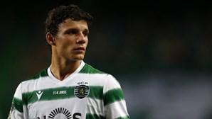 Eduardo Quaresma é um dos jogadores do Sporting com teste positivo à Covid-19