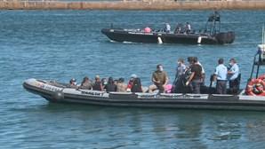 Audições aos migrantes que desembarcaram no Algarve prossegue na sexta-feira