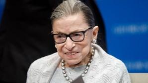 Morreu Ruth Bader Ginsburg, a juíza defensora dos direitos das mulheres do Supremo Tribunal dos EUA
