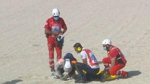 Piloto Miguel Oliveira sofre duas quedas na 3.ª sessão de treinos livres em Misano