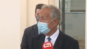 Marcelo lamenta morte de copiloto de avião 'Canadair' que caiu em agosto