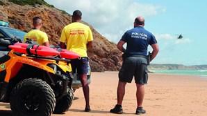 Belga desaparece após mergulho em praia de Vila do Bispo