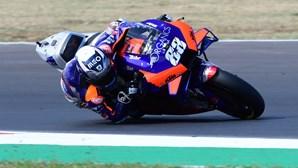 Miguel Oliveira fica em sexto lugar na corrida de MotoGP em Teruel