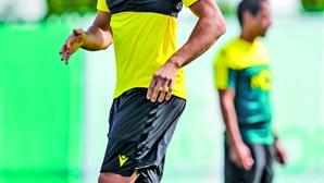 GPS ajuda a controlar os treinos do Sporting