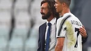 Ronaldo bisa e vale ponto à Juventus em Roma