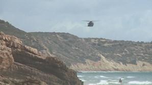 Encontrado corpo de homem desaparecido no mar em Vila do Bispo