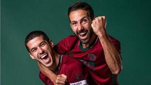Camisola do Wolverhampton com cores da bandeira de Portugal bate recorde de vendas