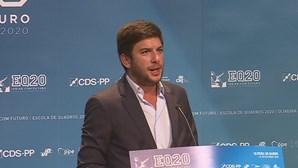 "Francisco Rodrigues dos Santos: ""Queremos comemorar resultados eleitorais"""