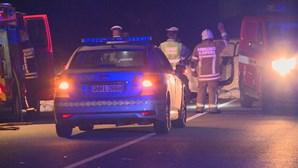 Dois mortos e um ferido grave em colisão na EN125 em Albufeira