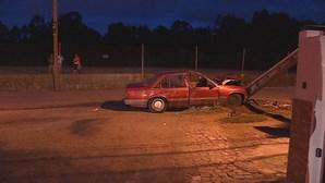 Idoso morre em despiste de carro em Paredes