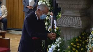 Marcelo marcou presença no funeral do bispo de Viana do Castelo