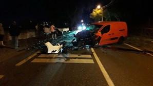 Colisão entre dois veículos faz um ferido em Castelo Branco
