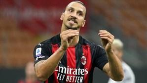 Zlatan Ibrahimovic testa positivo à Covid-19