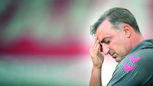 """Carlos Carvalhal: """"Há uma diferença grande para Benfica e FC Porto"""""""