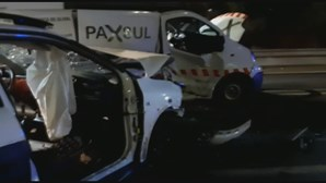 Colisão entre três carros provoca um ferido grave em Beja