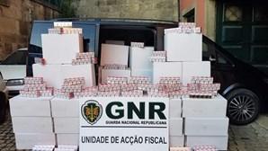 GNR apreende mais de meio milhão de cigarros em Felgueiras