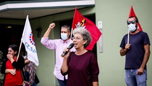 CGTP realiza manifestações e concentrações em vários pontos do país