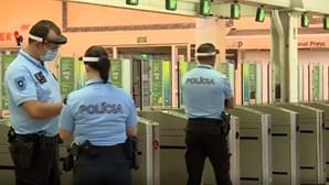 Insulta agentes e acaba detido em operação da PSP e SEF nos comboios da linha de Cascais