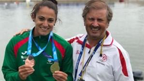 Canoísta Joana Vasconcelos conquista ouro na Taça do Mundo de Velocidade