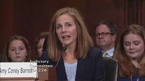 Donald Trump nomeia Amy Coney Barrett para o Supremo Tribunal nos Estados Unidos