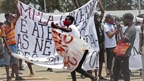 ONG fala de agressões em marcha de Luanda. Polícia diz que houve apenas 13 retidos