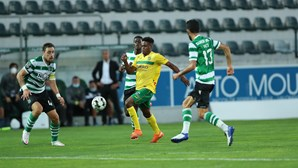 Termina o confronto em Paços de Ferreira com Sporting a vencer por 2-0. Veja os vídeos dos golos