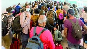 Caos no Aeroporto de Lisboa com 12 voos em simultâneo