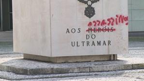 Vandalizado monumento de homenagem aos soldados que combateram no Ultramar