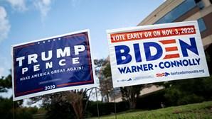 Mais de 17 milhões de pessoas já votaram nas eleições presidenciais dos Estados Unidos da América