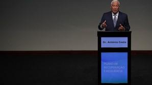 """António Costa: """"Portugal quer ser dos primeiros a fechar plano de recuperação na União Europeia"""""""