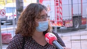 """""""Fez uma travagem e muitos de nós caímos"""": Testemunha relata momento do desabamento no metro de Lisboa"""