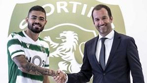 Sporting já apresentou Bruno Tabata