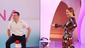 Cristina Ferreira e Pedro Teixeira gozam com André Filipe do 'Big Brothter'