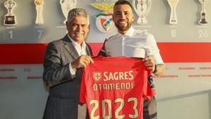 Otamendi apresentado como reforço do Benfica até 2023