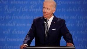 """""""Forças das trevas"""" estão a tentar dividir americanos, avança Joe Biden"""