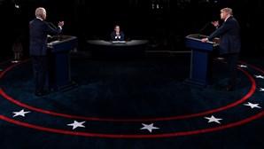 Acusações, farpas e insultos: O primeiro debate entre Donald Trump e Joe Biden ponto a ponto