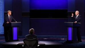 Telespetadores do debate entre Trump e Biden defendem criação de botão de silenciamento