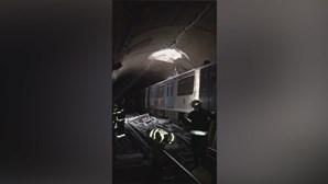 Erro provoca susto de morte no metro de Lisboa