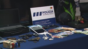 Três detidos em megaoperação da PSP no combate ao tráfico de droga nos distritos de Leiria e Lisboa