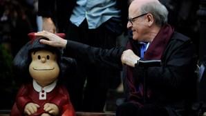 Morreu o cartoonista Quino, o criador de Mafalda